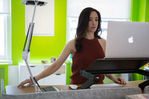 Are standing desks ergonomic?