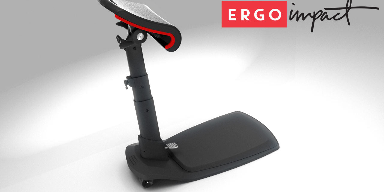 Ergo Impact Launches a First Sit-Stand-Lean-Perch chair at ErgoExpo