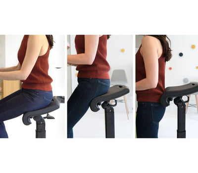 LeanRite Elite - Ergonomic Standing Chair Designed for Preventing Back Pain