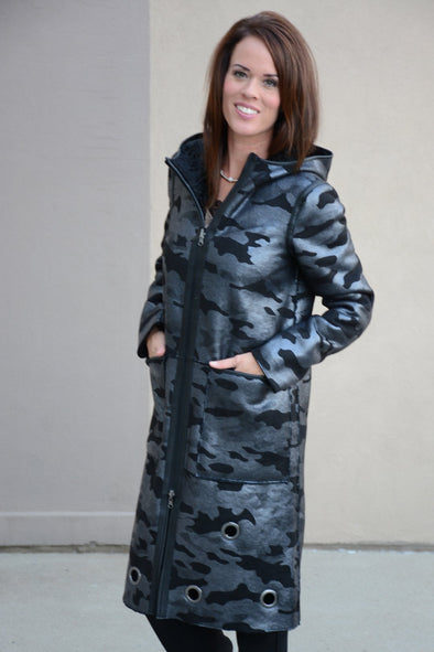 Nikki Jones - Jessica Reversible Coat