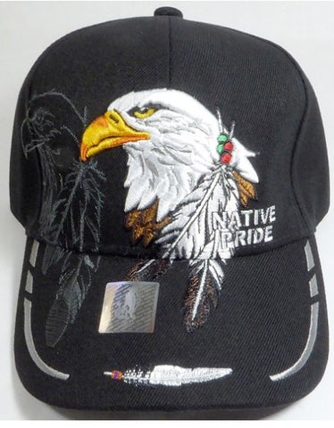 Native Pride Hat - Eagle and Feathers