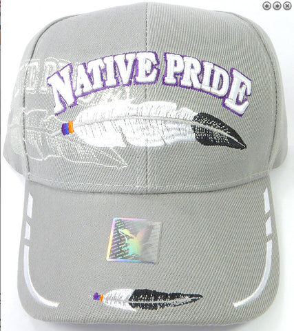 Native Pride Hat - Feathers
