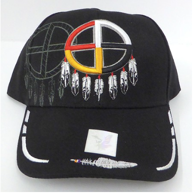 Native Medicine Wheel Hat