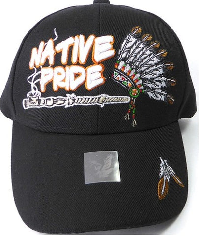 Native Pride Hat - Peace Pipe