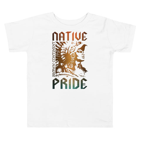 Cuauhtemoc Native Pride Toddler Tee