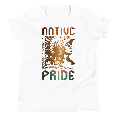 Cuauhtemoc Native Pride Kids T-shirt