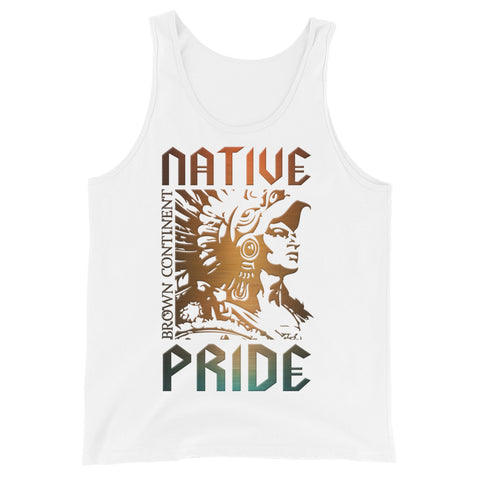 Cuauhtemoc Native PrideUnisex Tank Top
