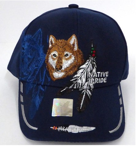 Native Pride Hat - Wolf