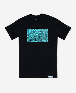 K.Haring Glass Collection X Diamond Supply Co. Limited Edition T-Shirt