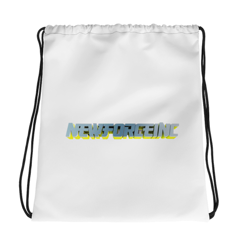 New Force Drawstring bag