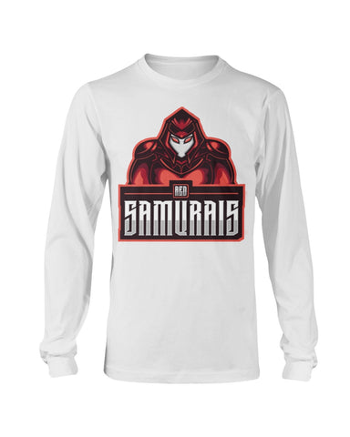 Red Samurais Long Sleeve T-Shirt