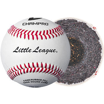 Official Little League Baseballs - 1 Dozen Full Grain Leather