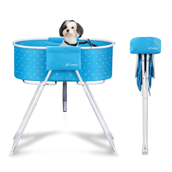 Furesh Elevated Folding Dog Bath Tub