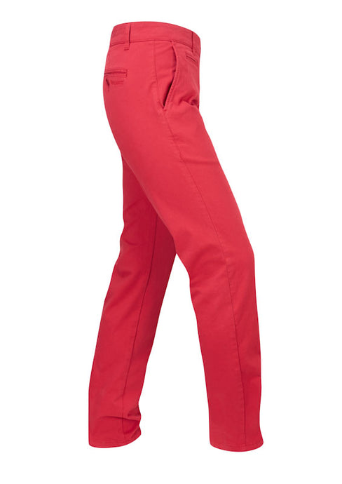 Colorado/3 - Red Cotton Super Stretch Chino