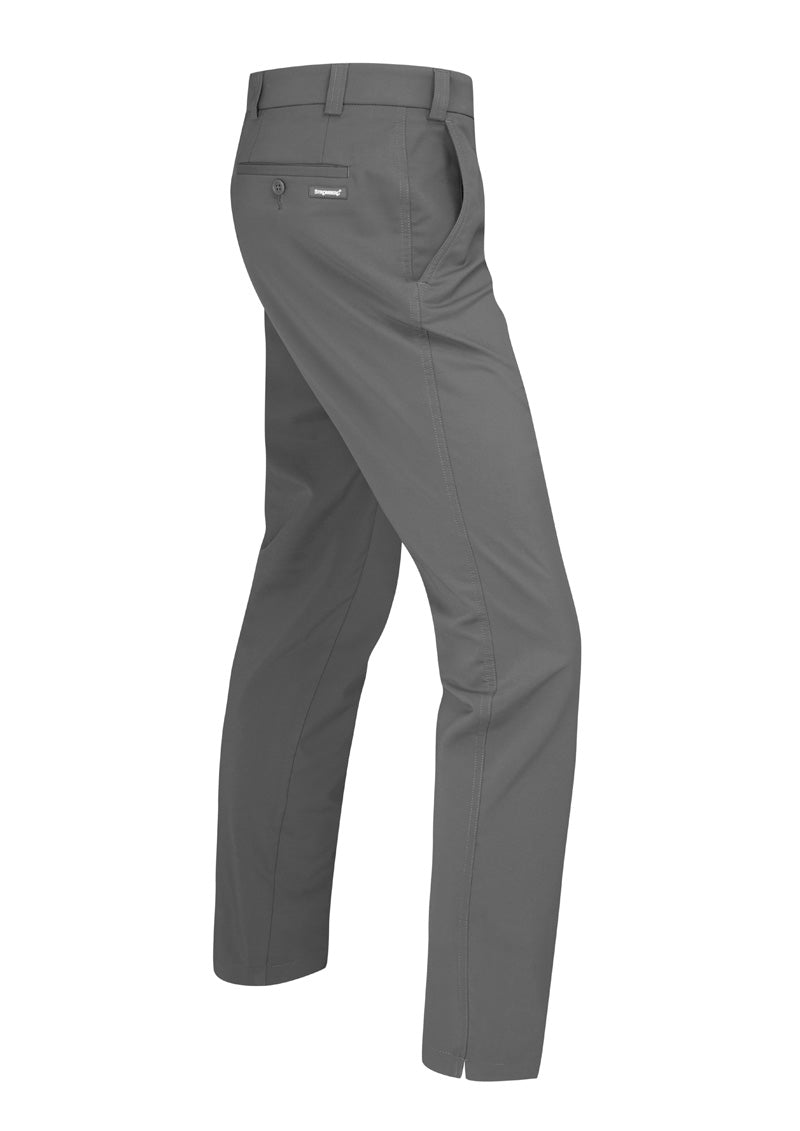 Hampton 1.1 - Dark Grey Technical Stretch Trouser - Tapered Fit