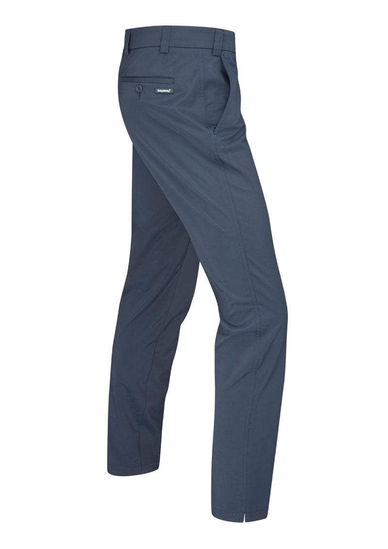 Hampton 1.2 - Navy Technical Stretch Trouser - Tapered Fit