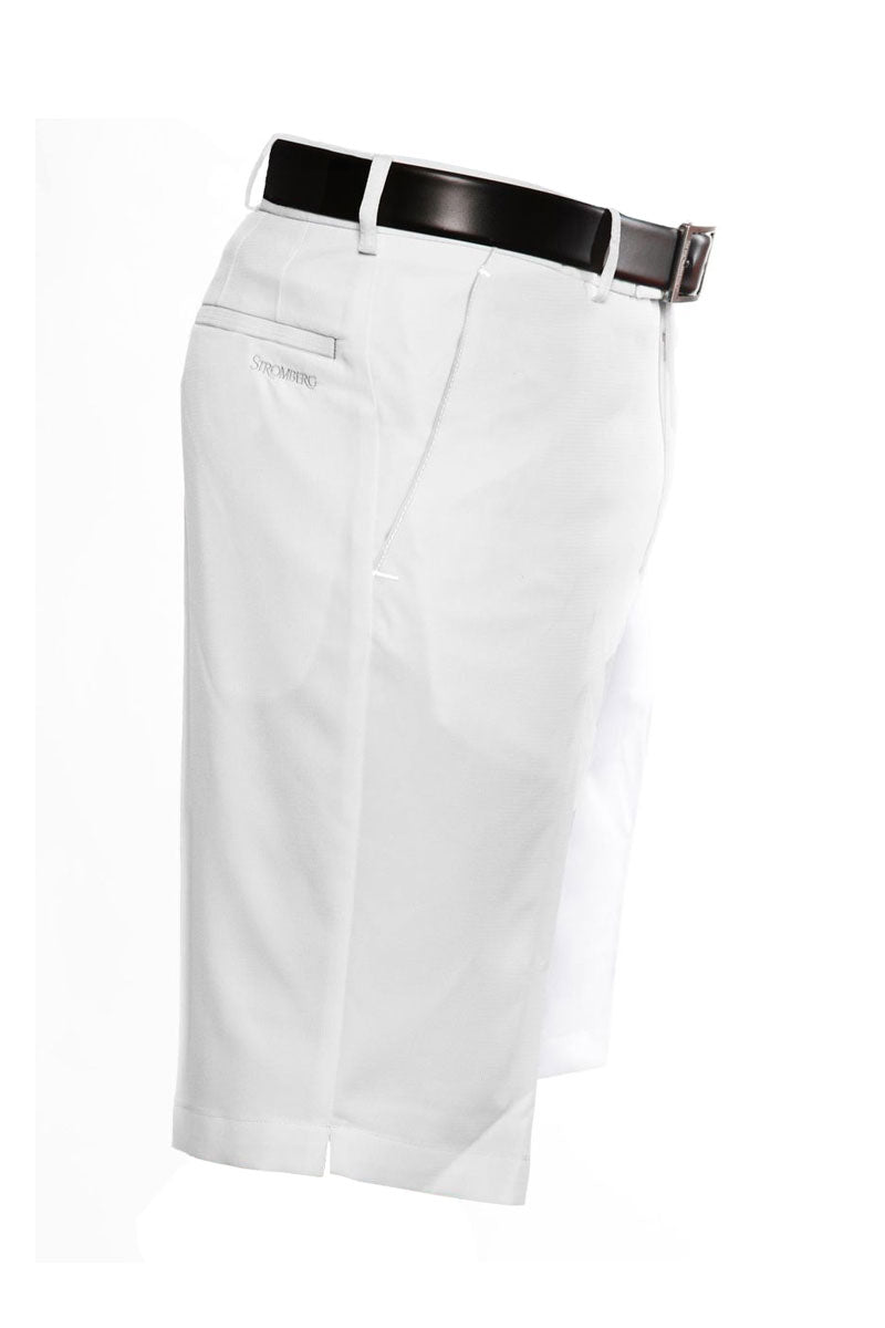 Sintra 2.1 Short - White Technical Golf Short - Tapered Fit