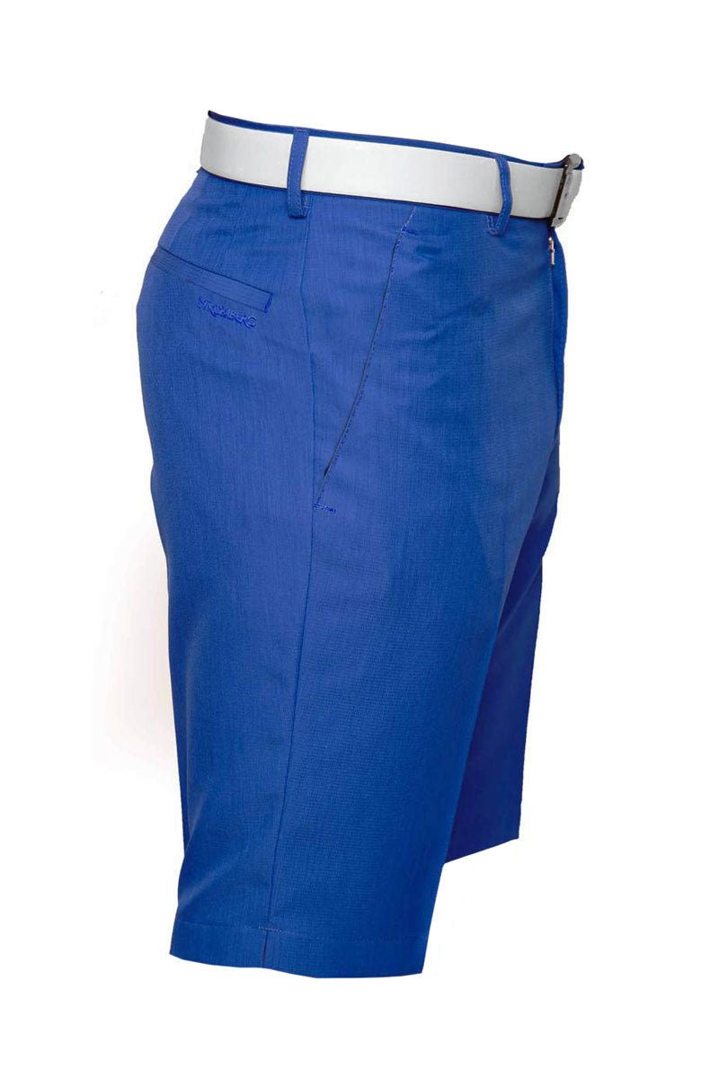 Sintra 2.4 Short - Blue Technical Golf Short - Tapered Fit