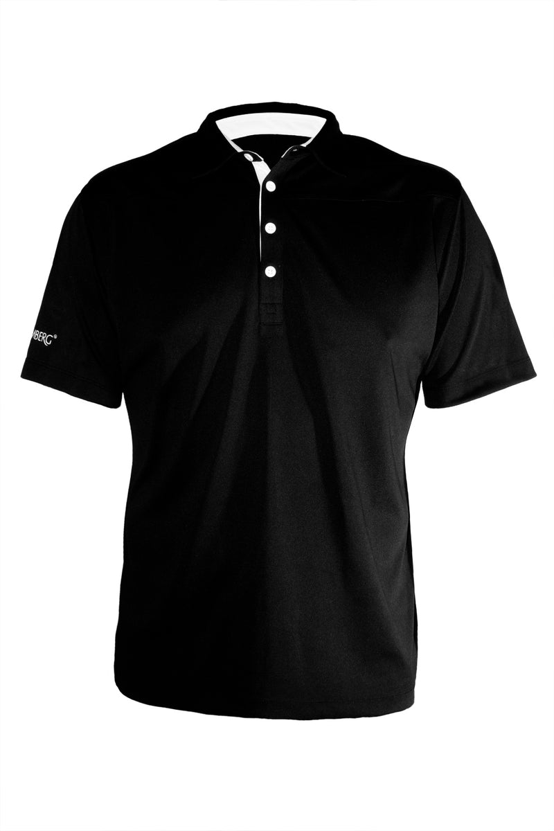 Tech Shirt - Black - Cool Dry - Moisture Managed - Fitted