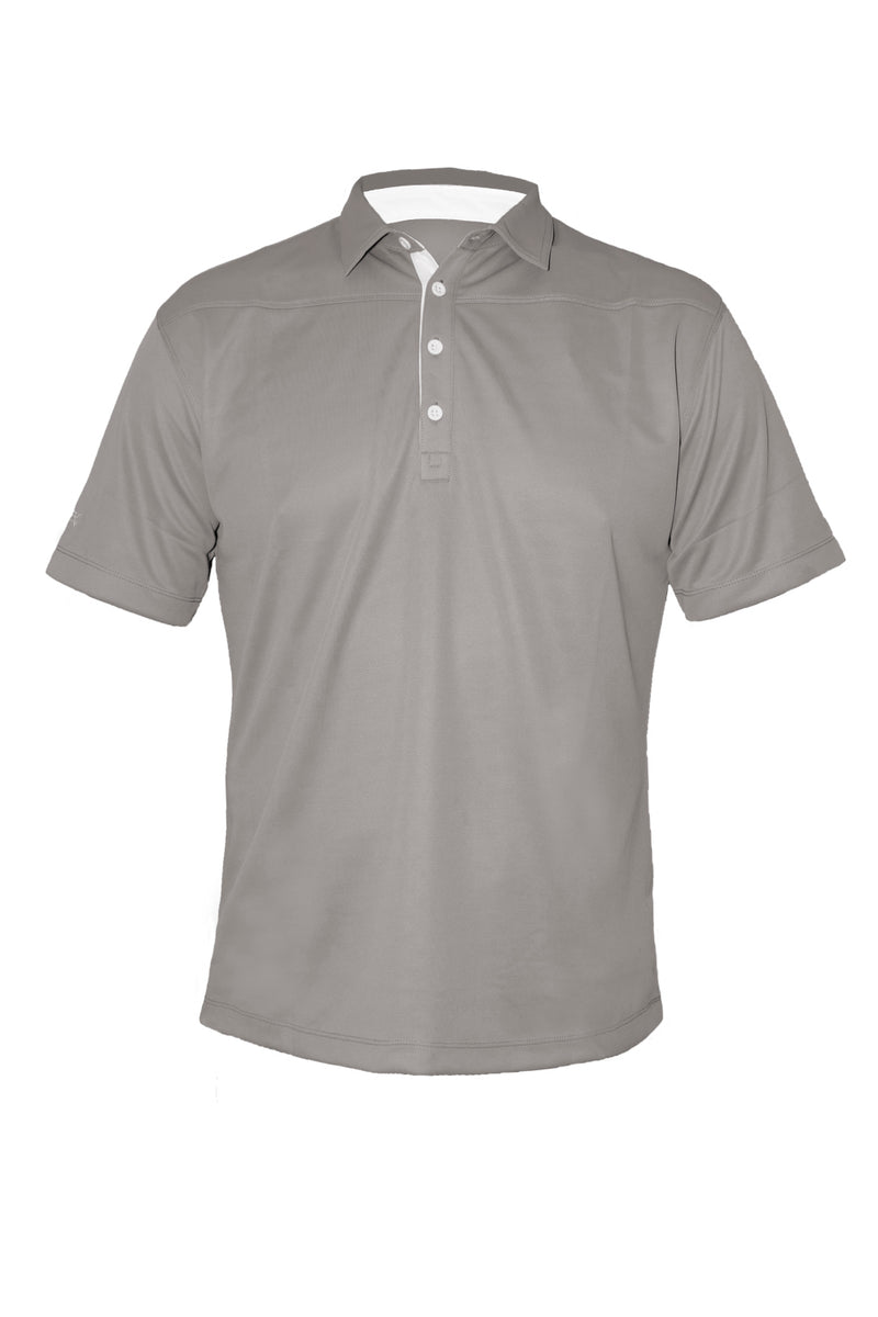 Tech Shirt 2 - Grey - Cool Dry - Moisture Managed - Fitted