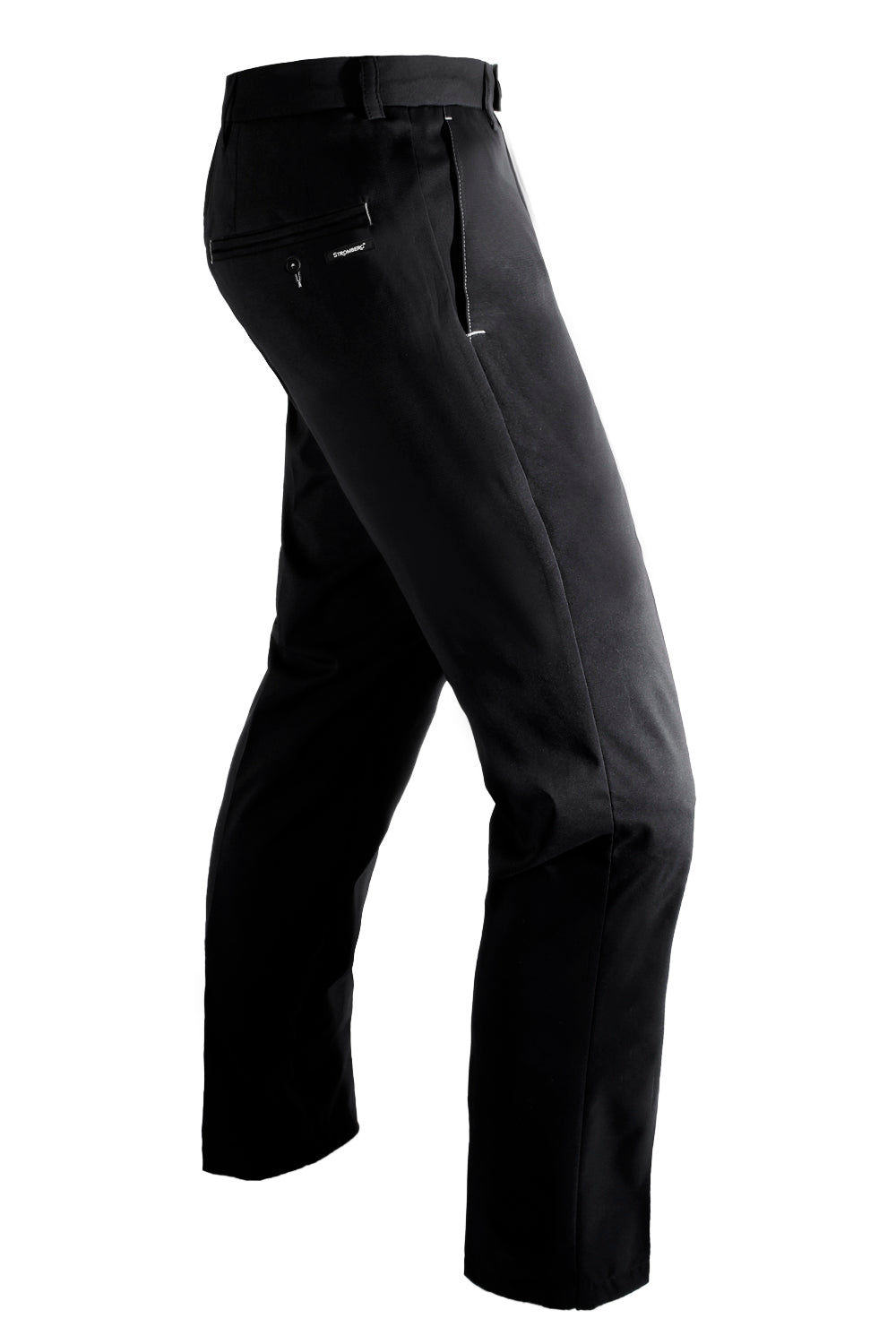 Weather-Lite 1.0 - Black - WeatherTECH - Water Resistant Trouser - Tapered Leg