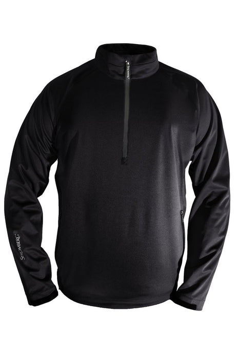 Wintra Windshirt - Black - Water Resistant - Standard Fit