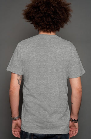 The Owl - Camo Pocket Tee Grey