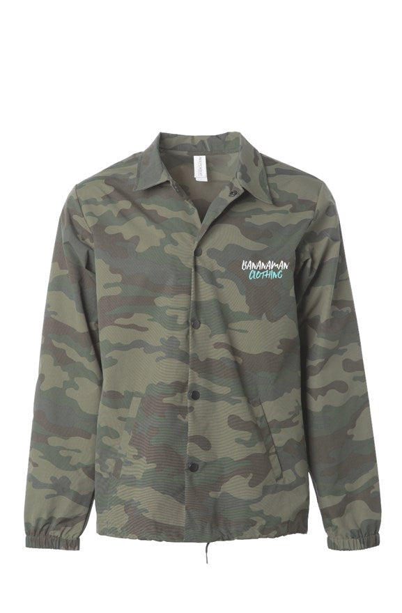 Bananaman - Camo Windbreaker/Water Resistant