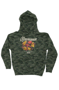 The Octosurf - Camo Independent Heavyweight Hoodie
