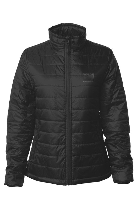 The Flag - Womens Puffer Jacket