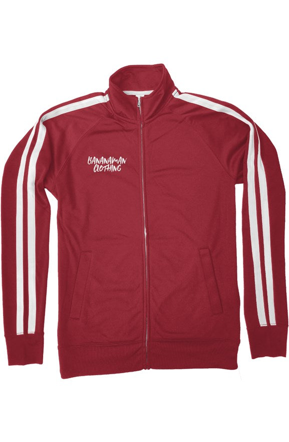 The Logo - Red Independent Track Jacket