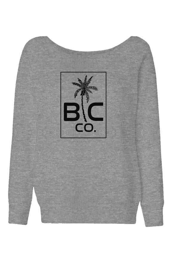 BC Co. - Womens Wide Neck Sweatshirt