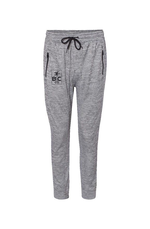 BC Co. - Performance Joggers -Heather Grey