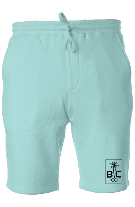 BC Co. - Mint Pigment Dyed Fleece Shorts