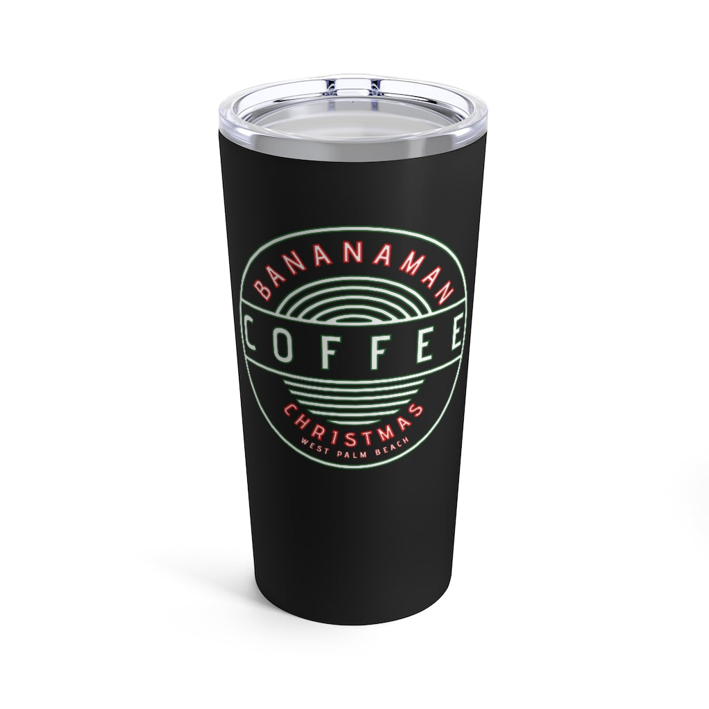 Christmas - Black Tumbler 20oz