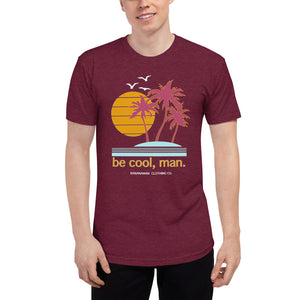 Be cool - Unisex Tri-Blend Track Shirt