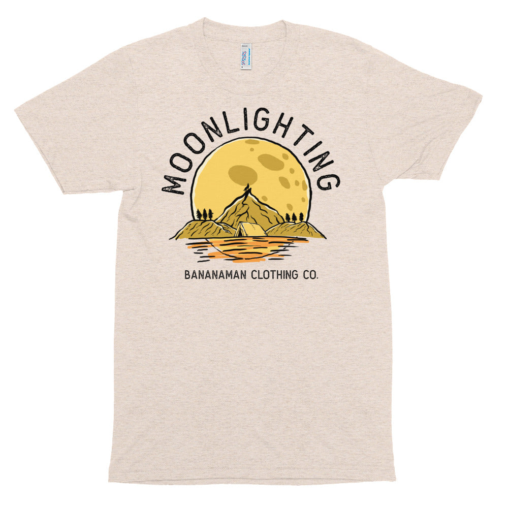 Moonlighting - Unisex Tri-Blend Track Shirt