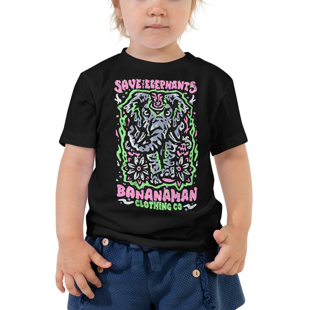 The Elephant - Toddler Short Sleeve Tee