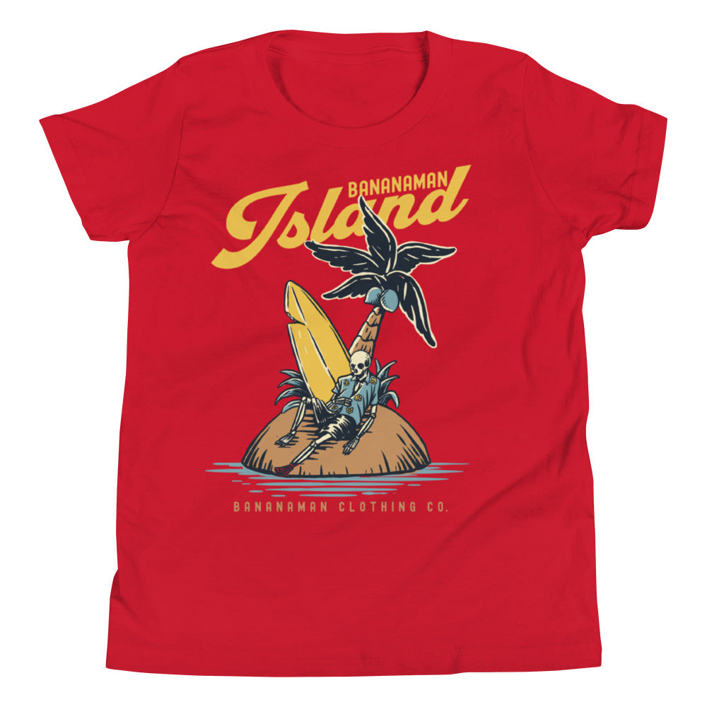 The Castaway Surfer - Youth Short Sleeve T-Shirt