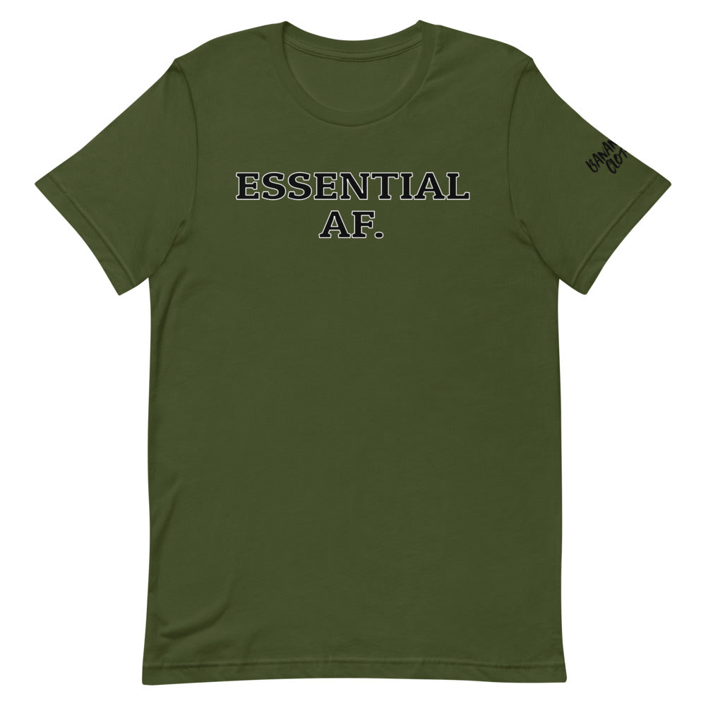 Essential AF - Short-Sleeve Unisex T-Shirt