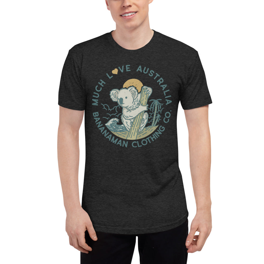 The Koala - Unisex Tri-Blend Track Shirt