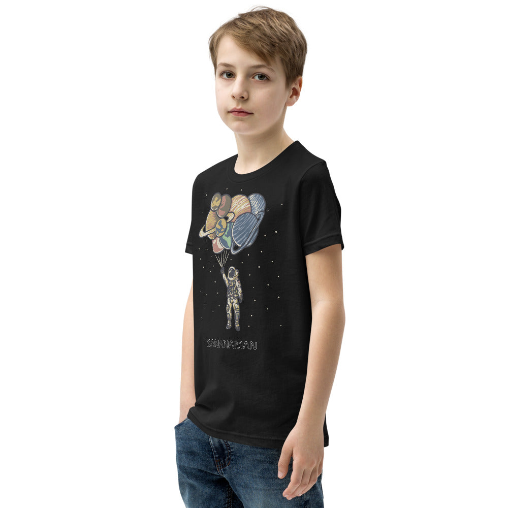 Space Balloons - Youth Short Sleeve T-Shirt