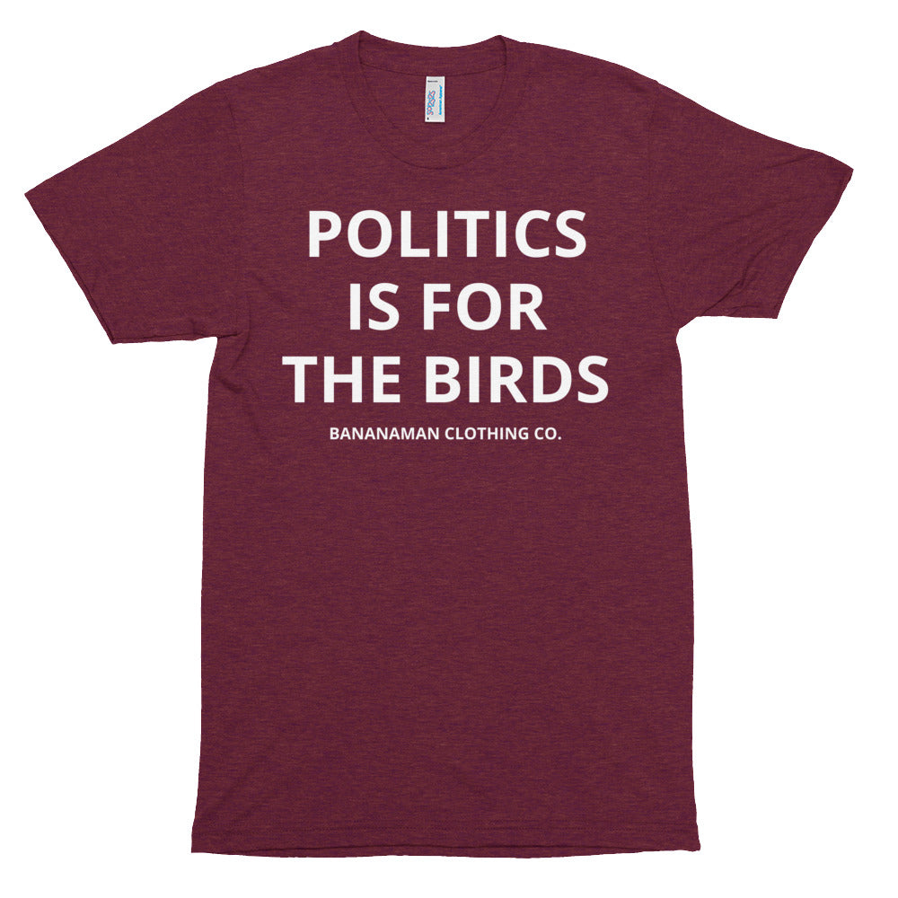 Mr Political - Unisex Tri-Blend Track Shirt