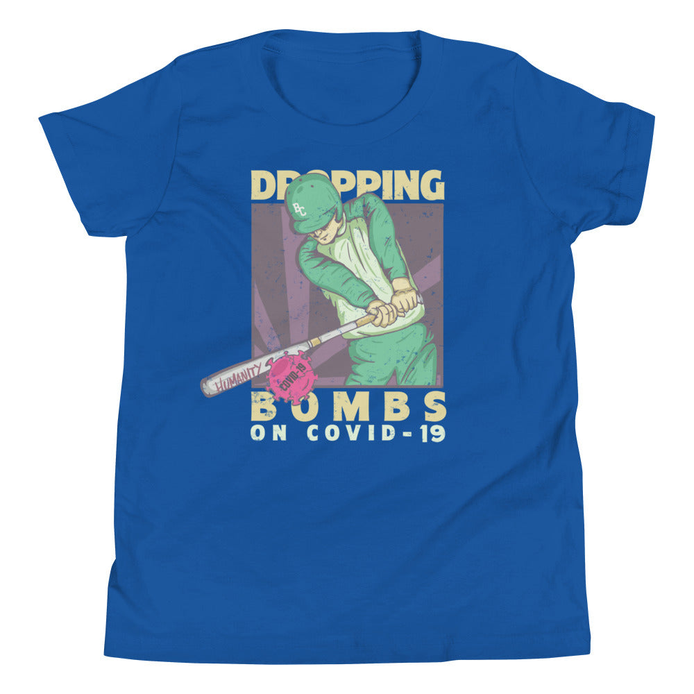 Dropping Bombs - Youth Short Sleeve T-Shirt
