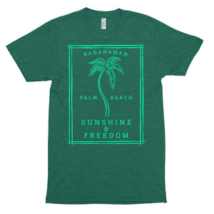 Sunshine & Freedom - Unisex Tri-Blend Track Shirt