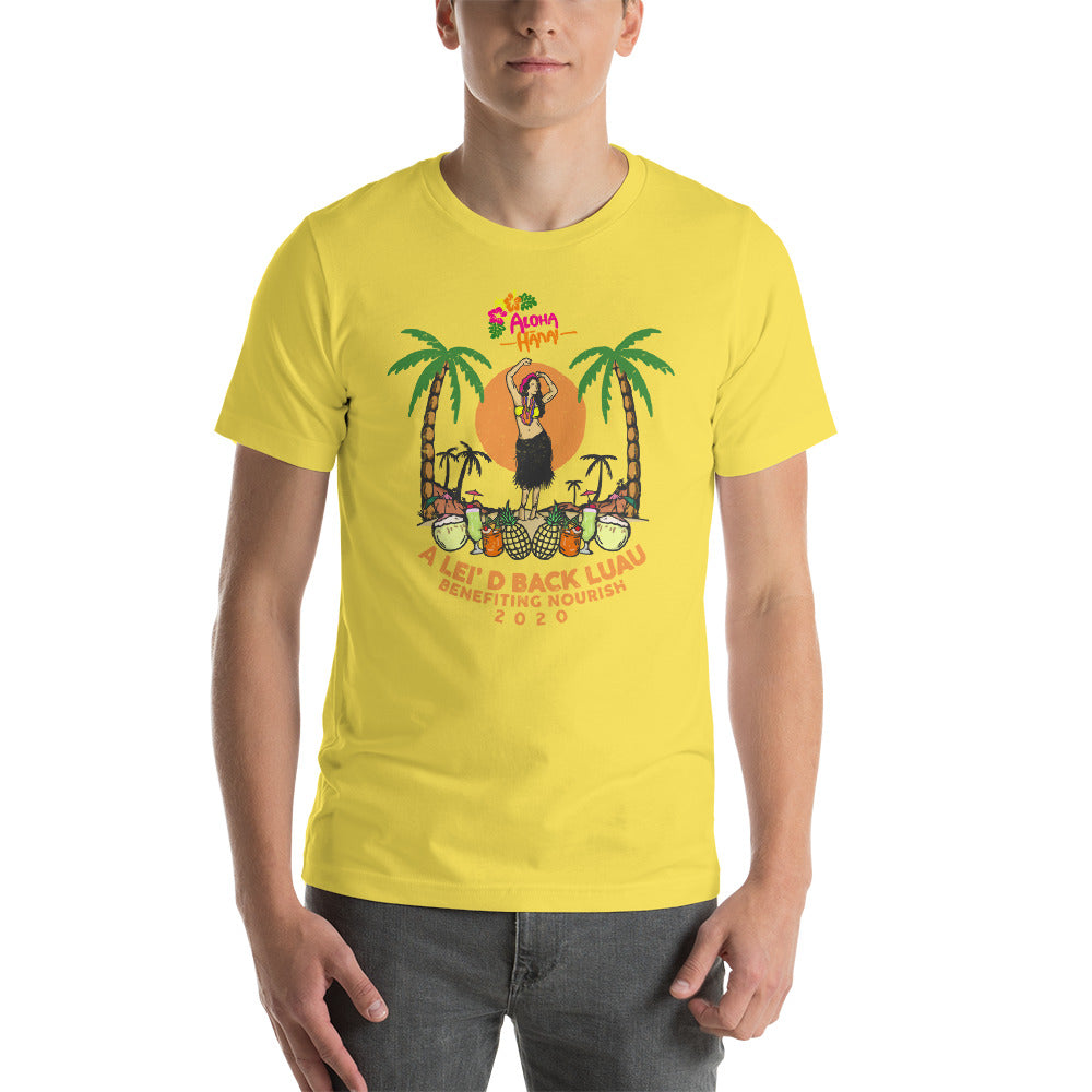 Lei'd Back Luau for Nourish - Short-Sleeve Unisex T-Shirt