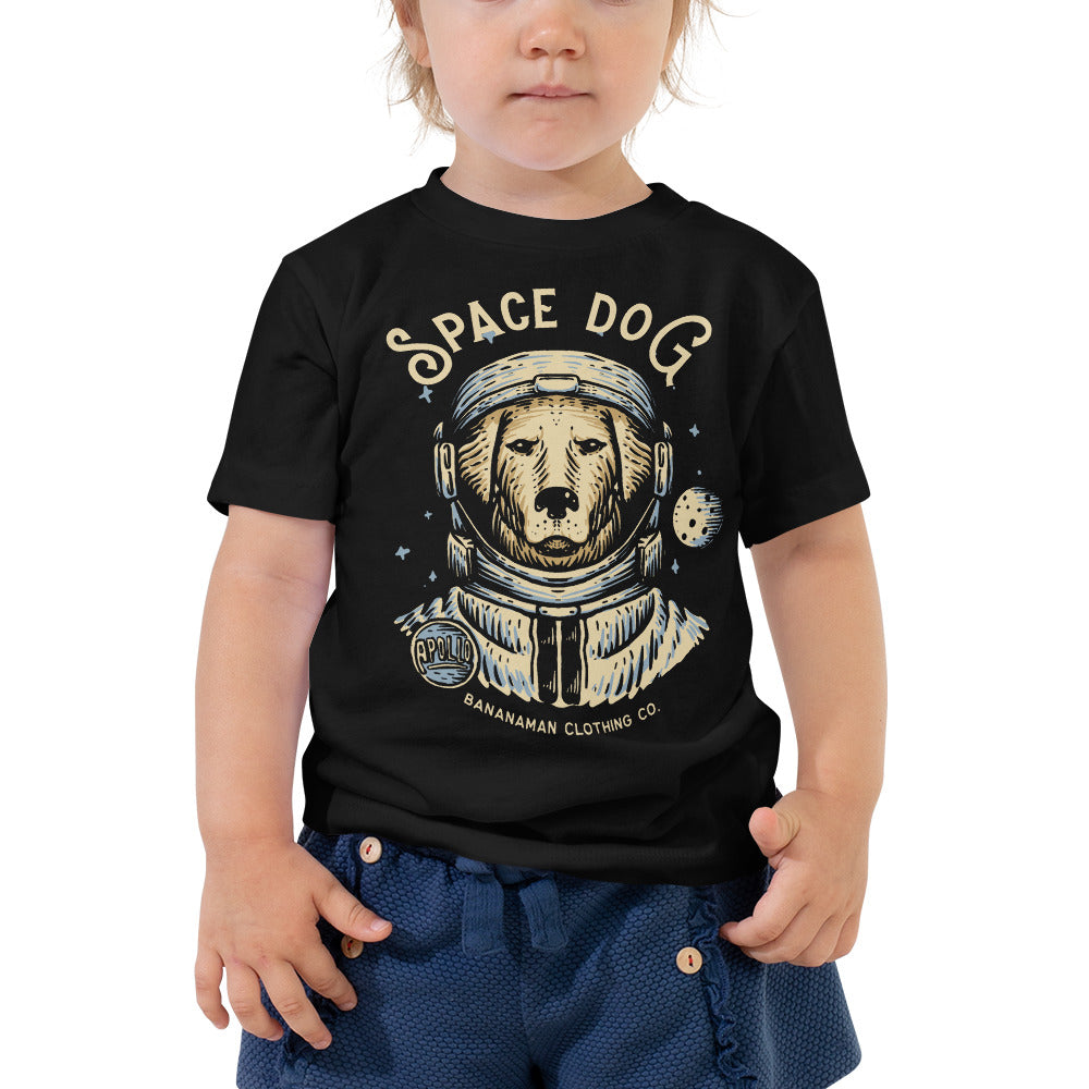 Space Dog - Toddler Short Sleeve Tee