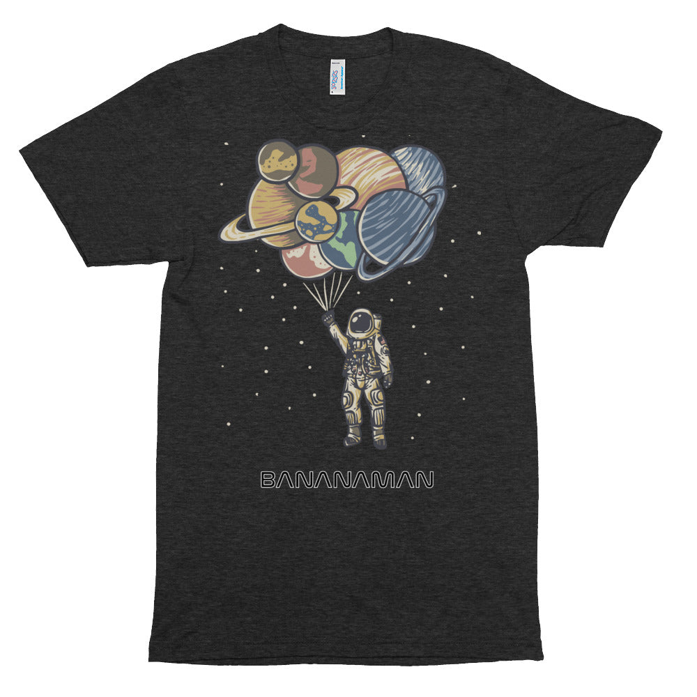 Space Balloons - Unisex Tri-Blend Track Shirt