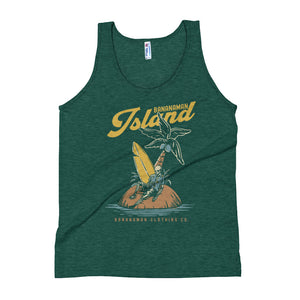 The Castaway Surfer - Unisex Tank Top