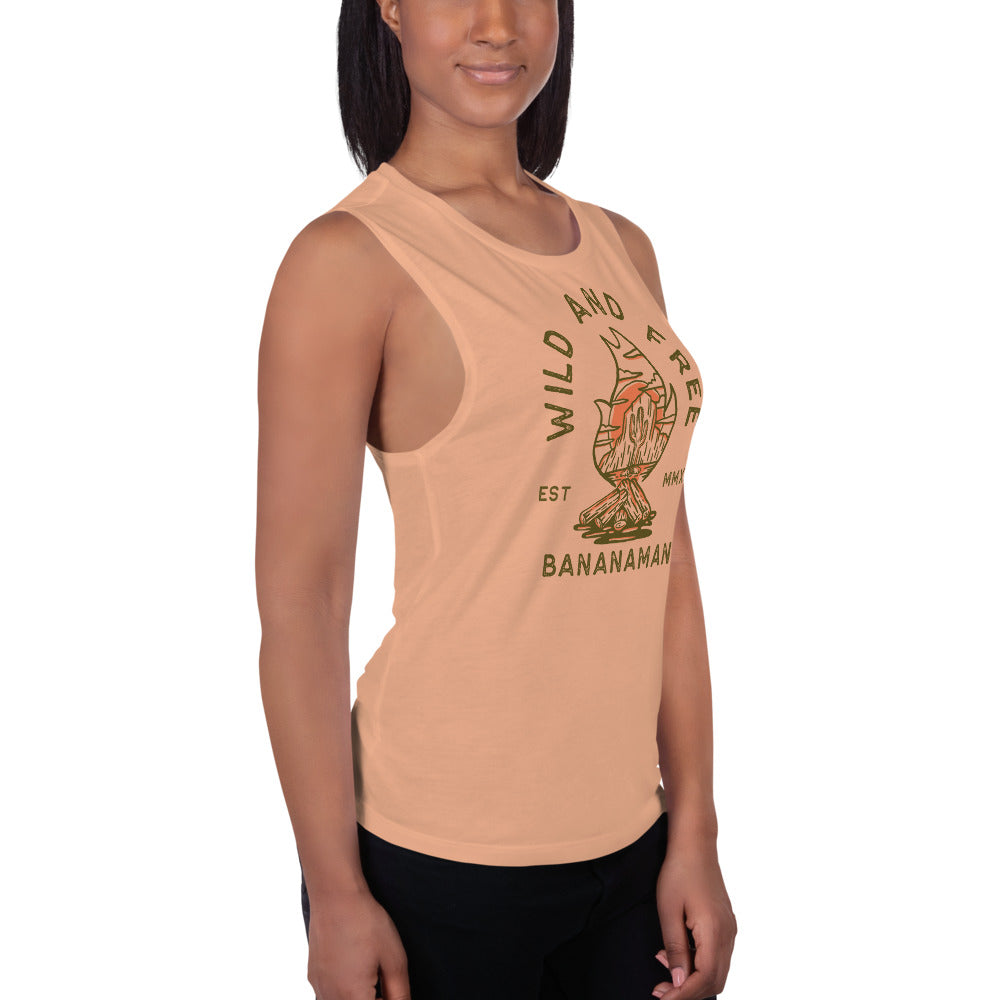 The Cactus - Ladies' Muscle Tank